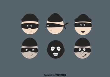 Free Robber Vector Set - бесплатный vector #350679