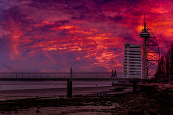 sky on fire - image gratuit #351109