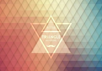 Hipster Label Seamless Triangle Pattern - vector #351439 gratis