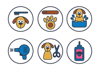 Dog Wash Vector - vector #351679 gratis