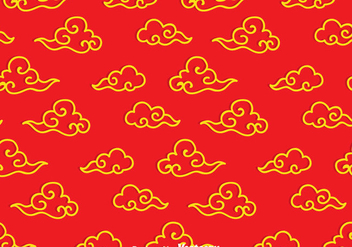 Chinese Cloud Pattern - vector gratuit #351909
