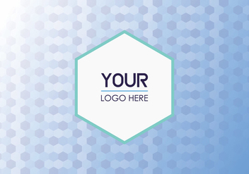 Free Geometric Logo Background - бесплатный vector #352089