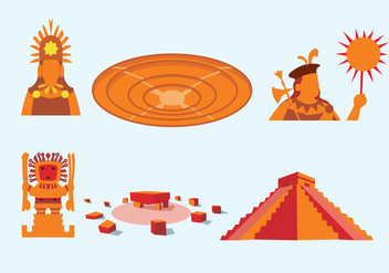 Ancient Incas Vector - бесплатный vector #352139