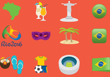 Brazil Icons - Free vector #352719