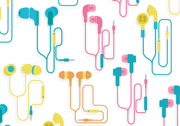 Ear Buds Vector - vector gratuit #353409