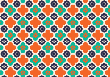 Arabic Pattern Vector Background - Free vector #353449