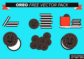 Oreo Free Vector Pack - vector gratuit #353559