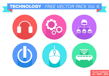 Technology Free Vector Pack Vol. 6 - vector #353569 gratis