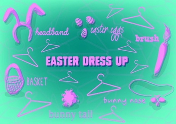 Vector Free Easter Background - vector #354009 gratis