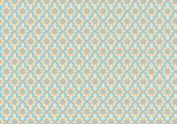 Moroccan Tile Pattern Vector - бесплатный vector #354059