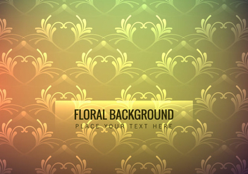 Colorful Floral Wallpaper - Kostenloses vector #354389