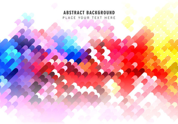 Colorful Abstract Pattern - vector gratuit #354499