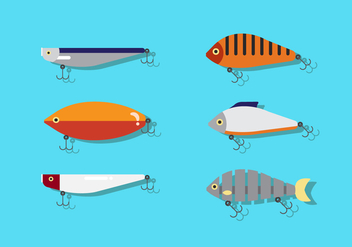 Vector Fishing Lure - vector #355299 gratis