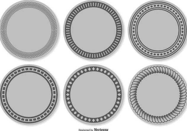 Blank Vector Label Set - Kostenloses vector #355479
