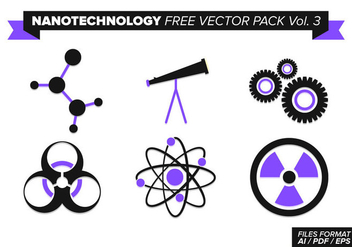 Nanotechnology Free Vector Pack Vol. 3 - vector gratuit #355509