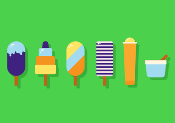 Vector Ice Cream - vector gratuit #355609