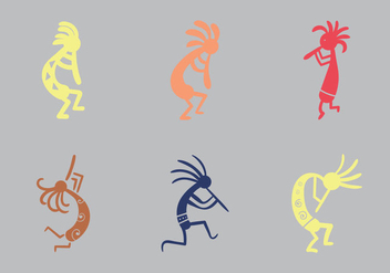 Free Kokopelli Vector Illustration - Kostenloses vector #355919