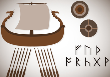 Free Assorted Viking Vector - Free vector #356309