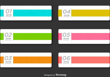 Minimal Business Vector Banner Template - Kostenloses vector #356389