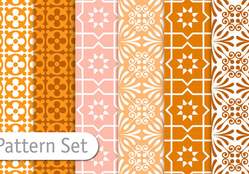 Geometric Pattern Set - Free vector #356569