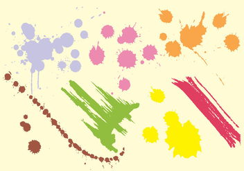 Paint Straek Vector - бесплатный vector #356609