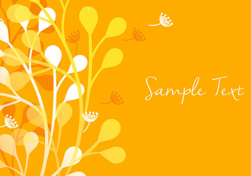 Colorful Floral Background - vector #356639 gratis