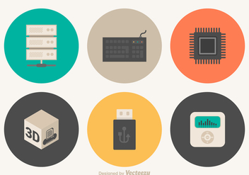Free Hardware Vector Icons - бесплатный vector #356719