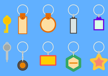 Free Key Holder Vector #1 - Free vector #356779