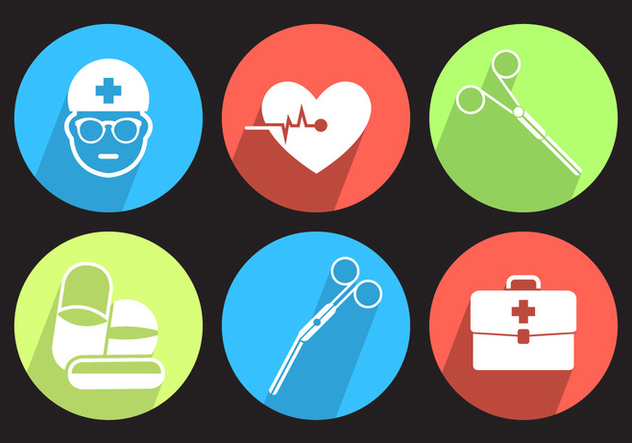 Medical Vector Icons - vector gratuit #356959