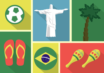 Brazil Vector Collection - vector gratuit #357009