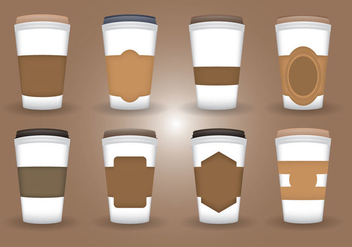 Coffee Sleeve Vector - vector gratuit #357079