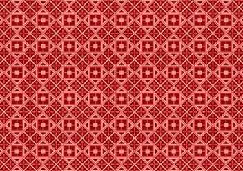 Free Batik Background Vector #4 - Free vector #357089