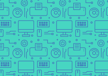 Free Gadget and Technology Vector Pattern #1 - vector gratuit #357509