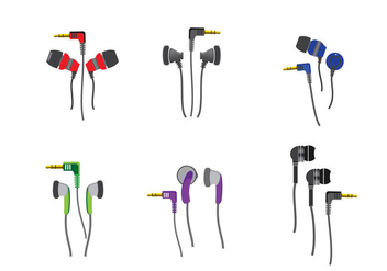 Ear Buds Phone Vector - vector gratuit #357799