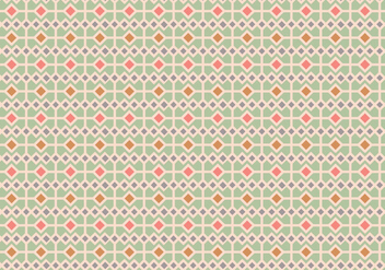 Pastel Square Pattern Background - vector gratuit #358069