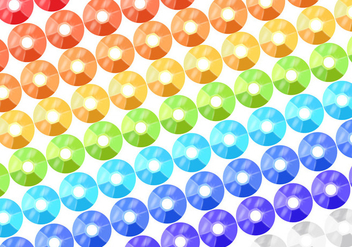 Colorful Sequin Background Vector - Free vector #358089