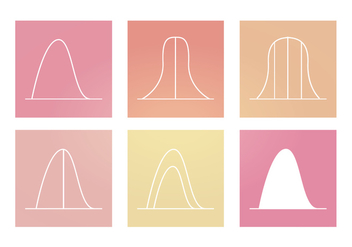 Vector Bell Curve Graphics - vector gratuit #358109
