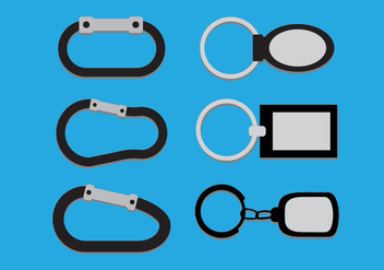 Key Holder Vector - vector gratuit #358209