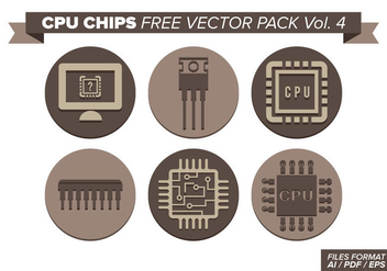 Cpu Chips Free Vector Pack Vol. 4 - Kostenloses vector #358529
