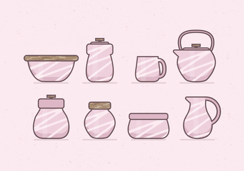 Vector Coffee and Canister Icons - vector gratuit #358629