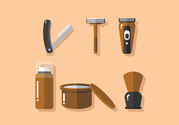 Vector Barber Tools - vector #358839 gratis