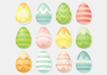 Vector Easter Eggs - Kostenloses vector #359299
