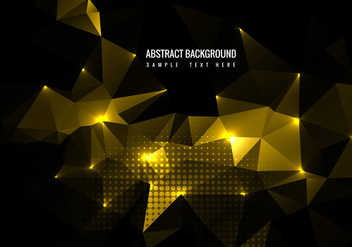 Free Vector Shiny Polygon Background - бесплатный vector #359959