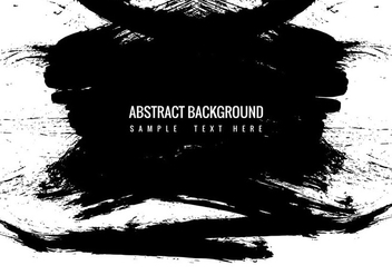 Free Vector Black Grunge Paint Sreaks - vector gratuit #359969
