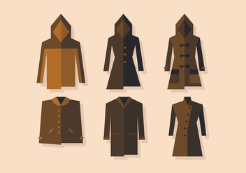 Vector Winter Coat - бесплатный vector #360159