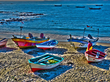Fishermen Boats in Llico - Free image #360339