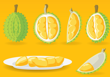 The King of Fruit Vector Set - Kostenloses vector #360439