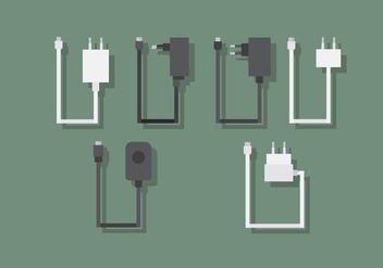 Vector Phone Charger - Free vector #360489