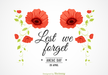 Free Vector Anzac Background - Free vector #360519