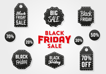 Free Black Friday Vector Background - vector gratuit #360709